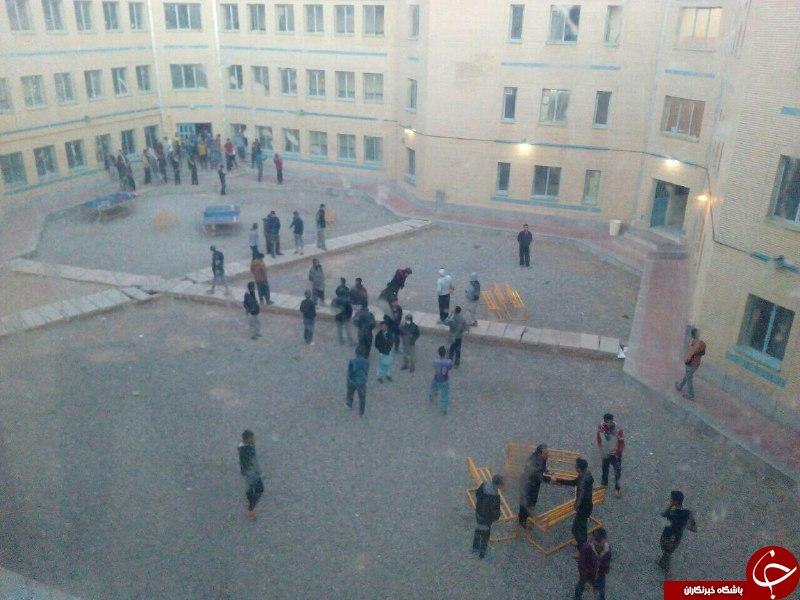 نخستین تصاویر از زلزله 6.1 ریشتری کرمان