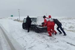 باشگاه خبرنگاران -امدادرسانی به 668 متاثر از برف و کولاک/رهاسازی 136 دستگاه خودرو
