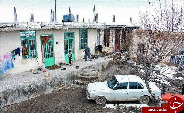تصاویری از محل زندگی دهقان فداکار