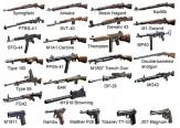 باشگاه خبرنگاران -سلاحهای گرم زمان جنگ جهانی دوم در یک قاب +عکس