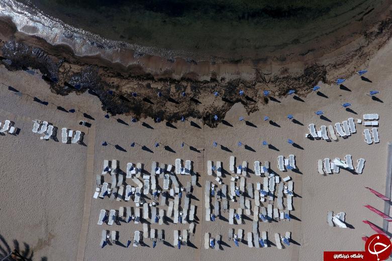 تصاویر هوایی برگزیده از وقایع سال ۲۰۱۷ از نگاه رویترز