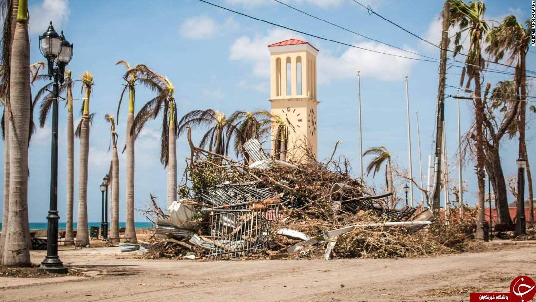 75 رو پس از توفان ماریا میگذرد و جزایر ویرجین آمریکا هنوز برق ندارند