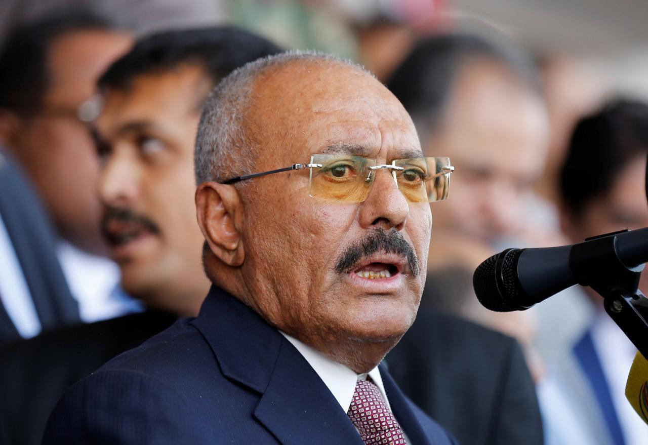 وزارت کشور یمن خبر کشته شدن علی عبدالله صالح را تایید کرد+ فیلم و تصاویر