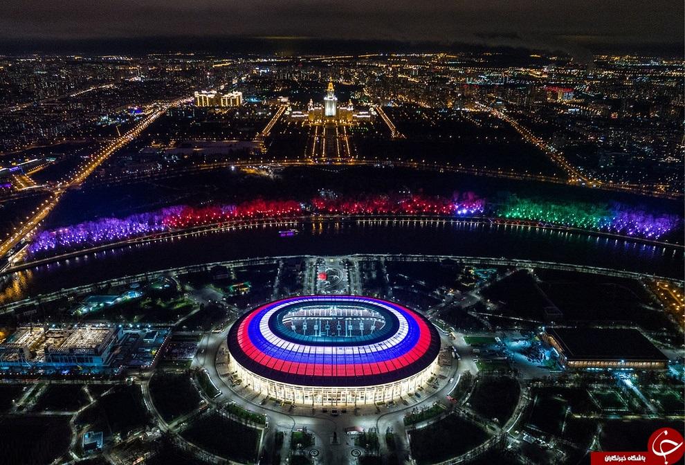 تصاویری از ورزشگاه های زیبایی که میزبان جام جهانی 2018 روسیه هستند
