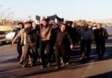 باشگاه خبرنگاران -پیکر پدر شهید محمد ابولی در اردکان تشییع شد