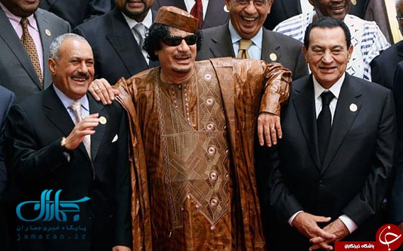 تصاویری از دوران زندگی علی عبدالله صالح