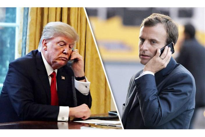 گفتگوی تلفنی ترامپ و مکرون درباره عراق و خاورمیانه