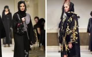 ویدیویی جنجالی نمایش مد زنان عربستانی در یک مراسم مختلط