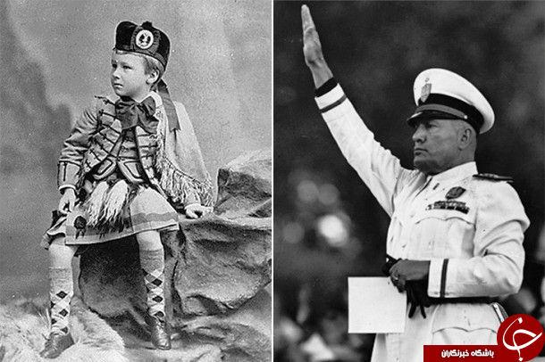 تصاویری از دوران بچگی بی رحم ترین و سنگدل ترین انسان های تاریخ
