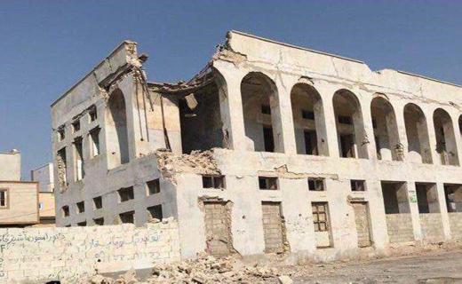 آخرین اخبار از زلزله بوشهر /چند ساختمان در شهرستان دیر بر اثر زمینلرزه آسیب دیدند+تصاویر