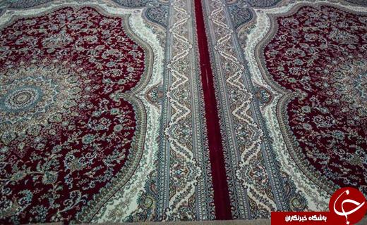 مفروش شدن حرم حضرت عباس(ع) با فرشهای جدید +تصاویر