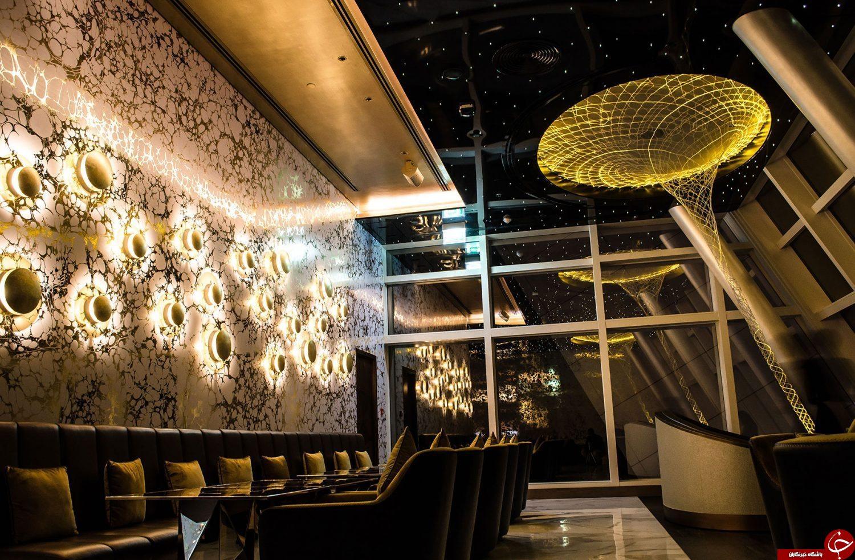 جایی رویایی برای شیوخ پولدار و تجمل گرای دبی/در طبقه 27  برج العرب جمیرا چه می گذرد؟