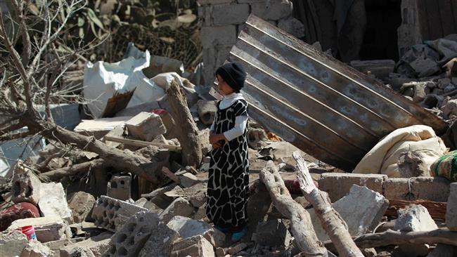 حمله جنگندههای سعودی به یک منزل مسکونی در استان حجه یمن