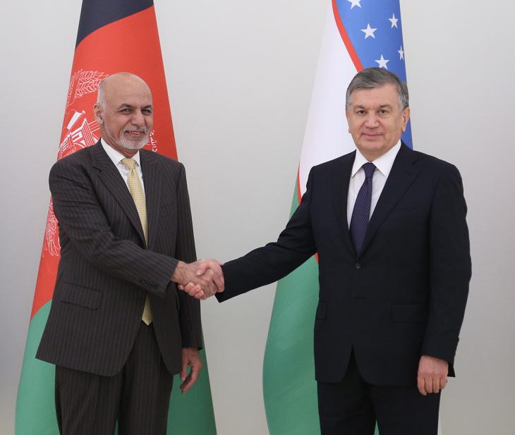 امضای 20 سند همکاری میان ازبکستان و افغانستان