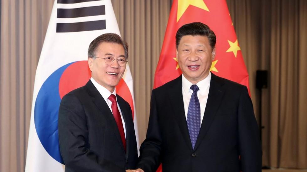 سفر رئیسجمهور کره جنوبی به چین در میان افزایش تنشهای شبه جزیره کره