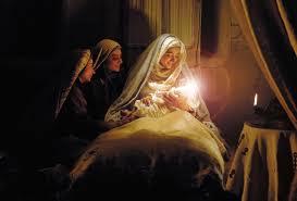 سکانس  از فیلم محمد رسول الله /لحظه تولد حضرت محمد ( ص ) در فیلم محمد رسول الله