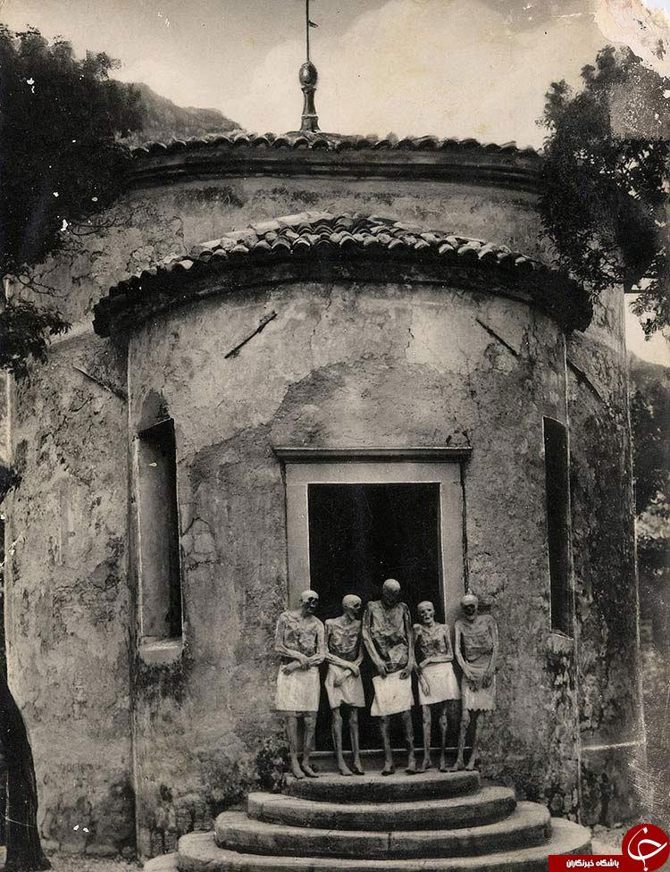 کشف این مومیاییهای ایتالیا دنیا را در حیرت فرو برد+تصویر