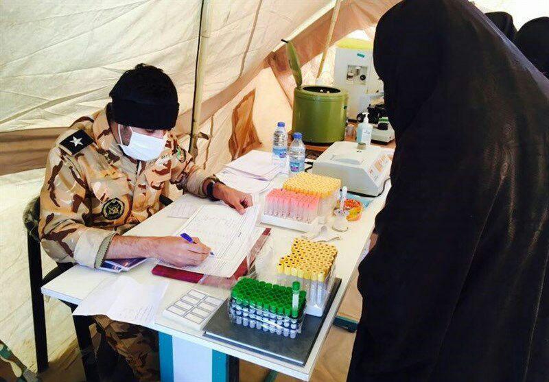 دو هزار و ۲۰۰ نفر در بیمارستان صحرایی خاش مداوا شدند