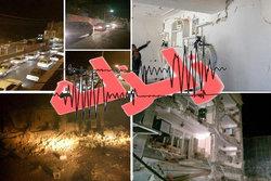 زلزله امروز در جنوب استان بوشهر خسارتی نداشته است