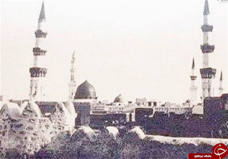 قدیمیترین عکسهای مسجدالنبی+تصاویر