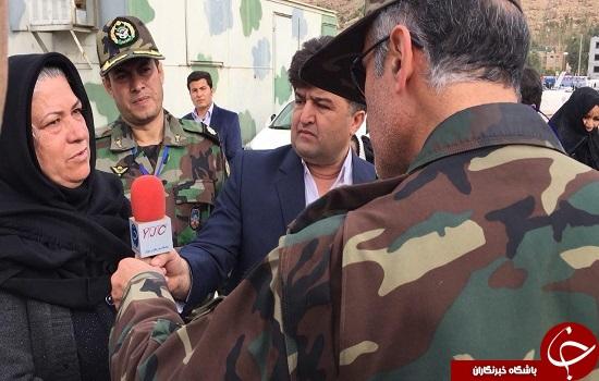 بازدید جانشین فرماندهی قرارگاه غرب نزاجا امروز از مناطق زلزله زده