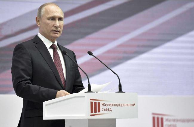 فریادهای حمایت از پوتین در انتخابات 2018 روسیه