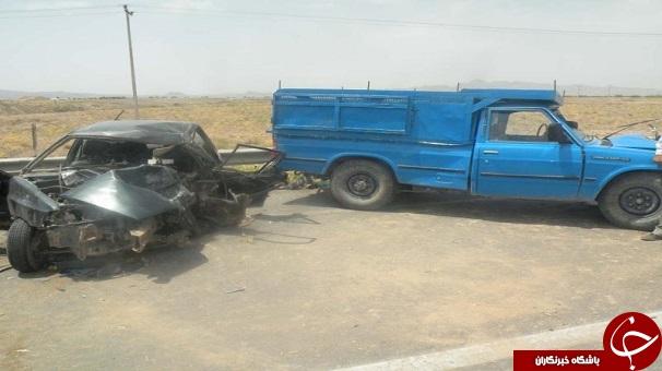 مرگ دو کودک درسانحه رانندگی