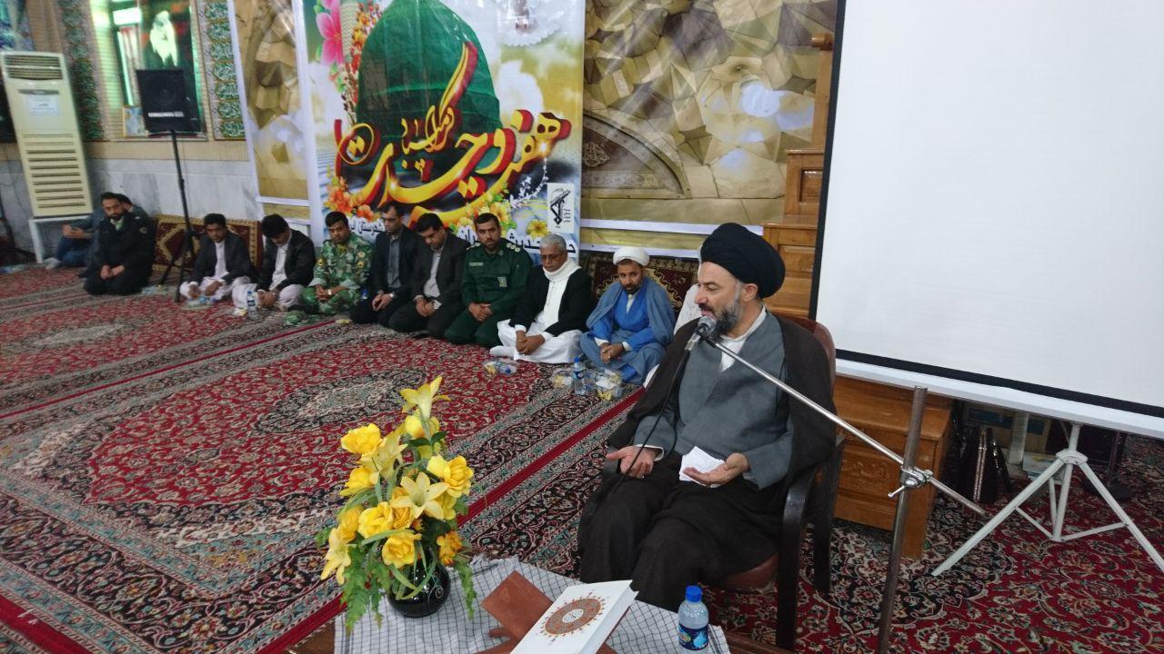 جشن میلاد پیامبر اکرم (ص) و امام صادق (ع) در ایرانشهر برگزار شد