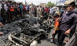 انفجار خودروی بمب گذاری شده در اردوگاه پناهندگان در اربیل عراق