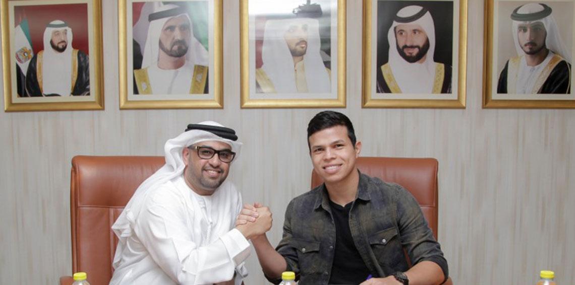 حریف اماراتی پرسپولیس ، قرارداد ستاره برزیلی را تمدید کرد