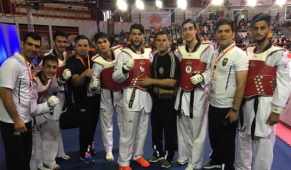 تبریک کمیته ملی المپیک در پی قهرمانی تکواندو دانشگاه آزاد در جام جهانی