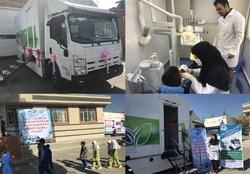 مددجویان روستایی دشتستان از خدمات پزشکی بهرهمند شدند