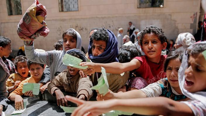 محاصره یمن خفه کردن یک ملت است