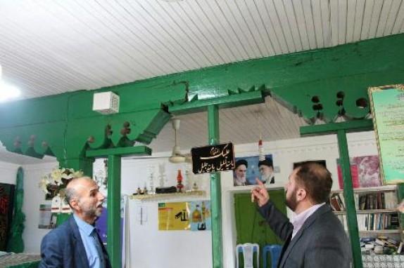باشگاه خبرنگاران -بازسازی بقاع متبرکه در گیلان