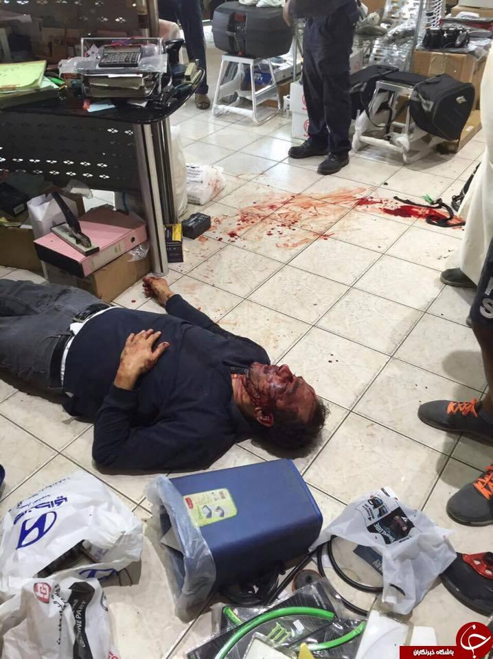 درگیری خونین میان تعمیرکار موتورو مشتری به علتی عجیب+فیلم و تصاویر