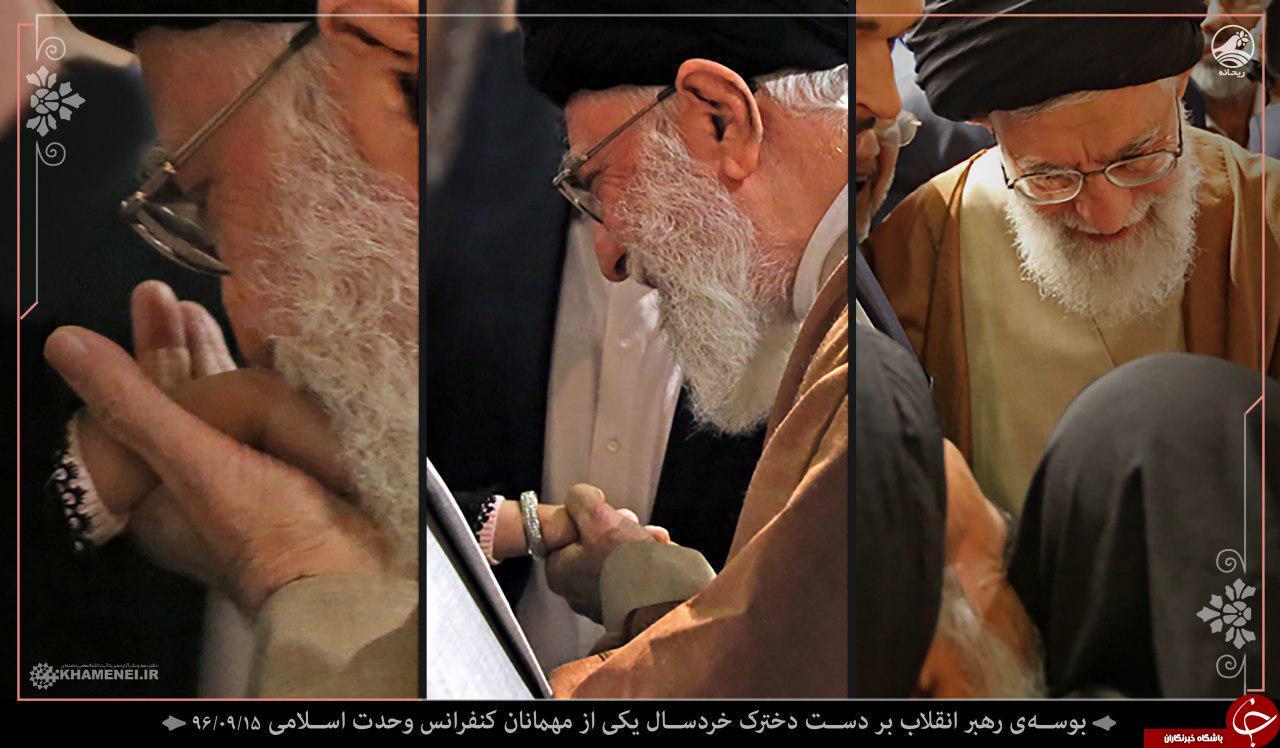 تصویری خاص از دیدار رهبر معظم انقلاب با سفرای کشورهای اسلامی
