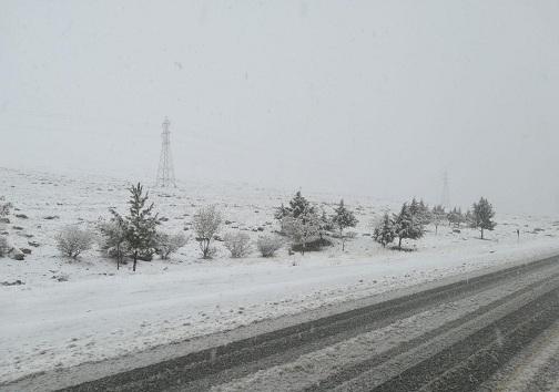 وزش باد باعث کولاک و کندی تردد در گردنه های برفگیر می شود