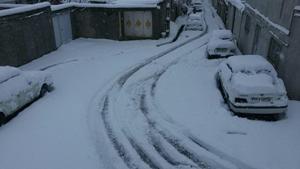 بارش برف پاییزی در آذربایجان شرقی