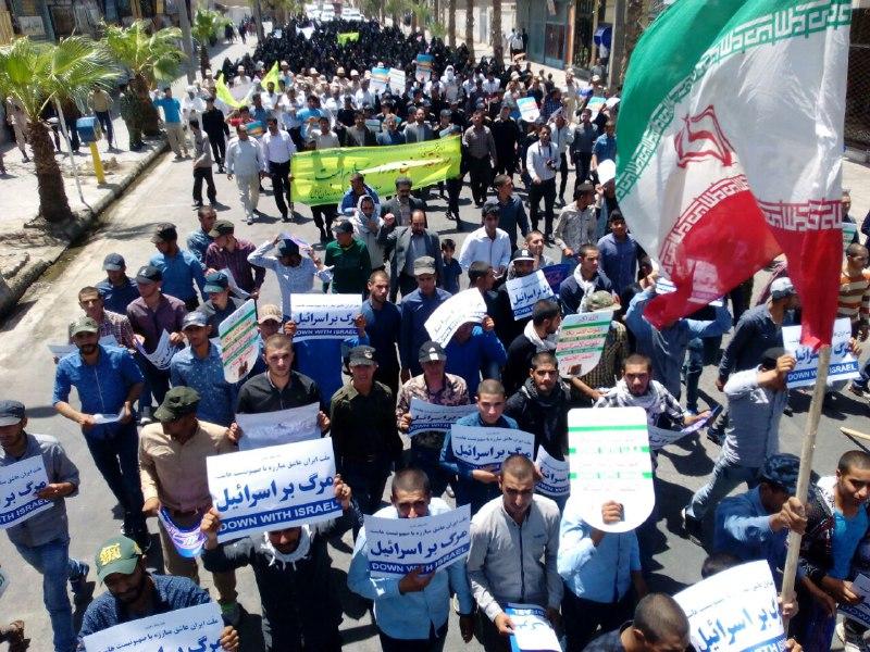 برگزاری راهپیمایی ضد آمریکایی در بیش از ۳۰ نقطه سیستان و بلوچستان