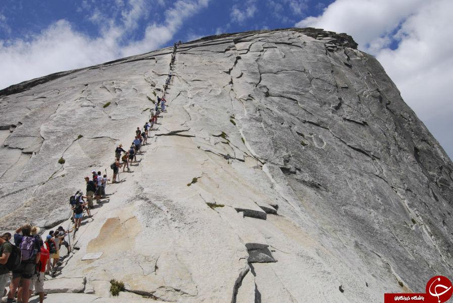 خطرناک ترین و صعب العبورترین مسیرهای کوهنوردی دنیا+ تصاویر
