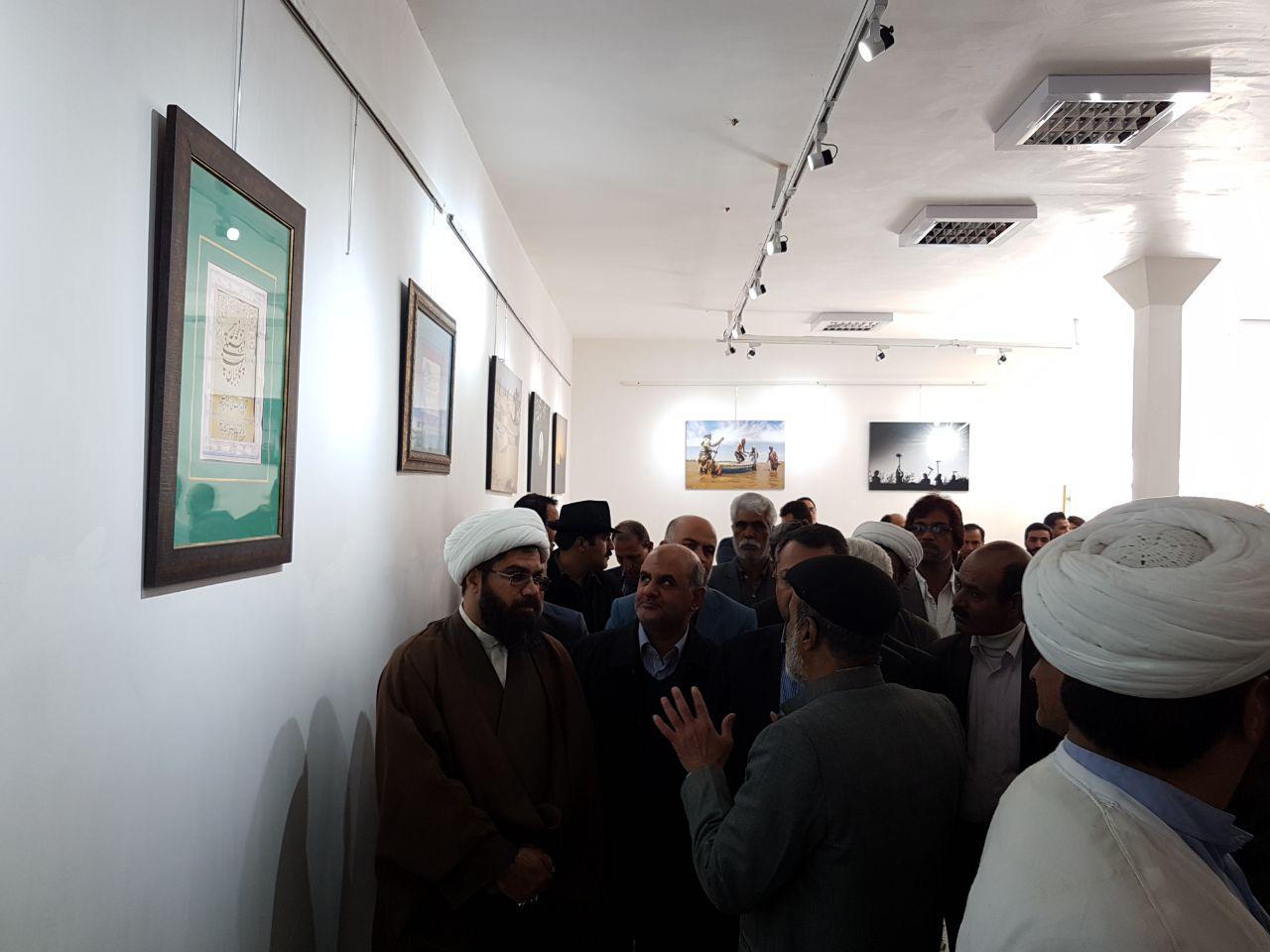 نگارخانه گلستانه در زابل افتتاح شد