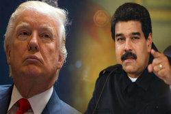 مادورو: هدف ترامپ تقویت موجودیت نامشروع اسرائیل در فلسطین است