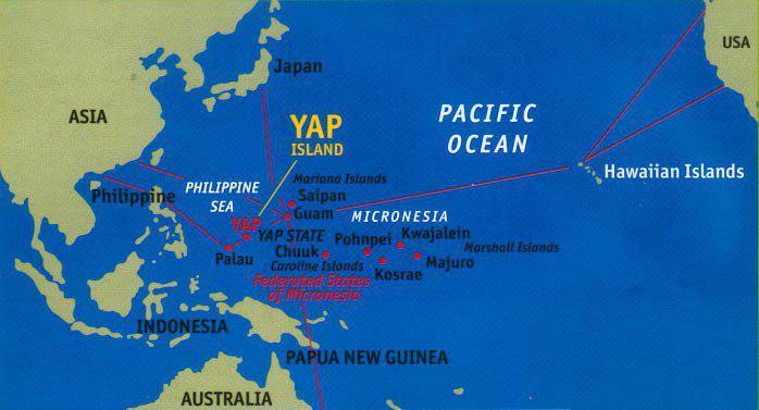 وقوع زلزله شدید در جزیره یاپ