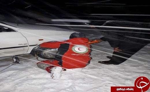 امداد رسانی به بیش از سه هزار نفر گرفتار در برف و کولاک