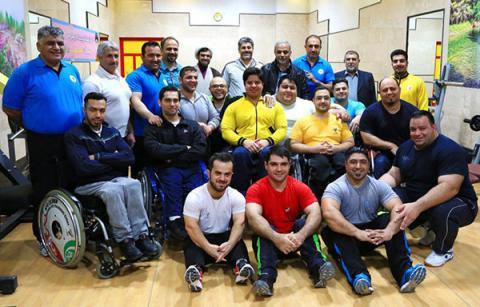 قهرمانی تیم ملی وزنه برداری جانبازان و معلولین ایران در جهان