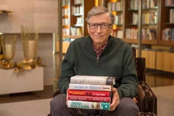 ۵ کتاب محبوب بیل گیتس در سال ۲۰۱۷