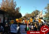 باشگاه خبرنگاران -راهپیمایی نمازگزاران در واکنش به تغییر پایتخت رژیم صهیونیستی