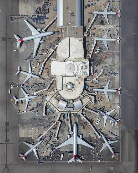 باشگاه خبرنگاران -فرودگاه از نمایی متفاوت +عکس