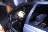 باشگاه خبرنگاران -رهایی یک خودروی پژو از حریق در گلپایگان