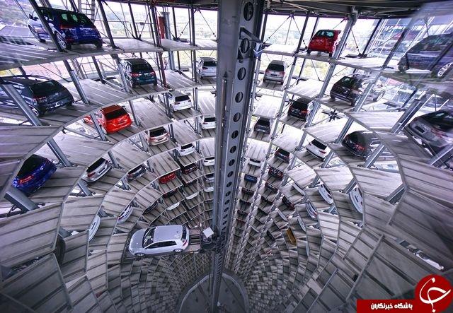 جالب ترین پارکینگ طبقاتی در آلمان